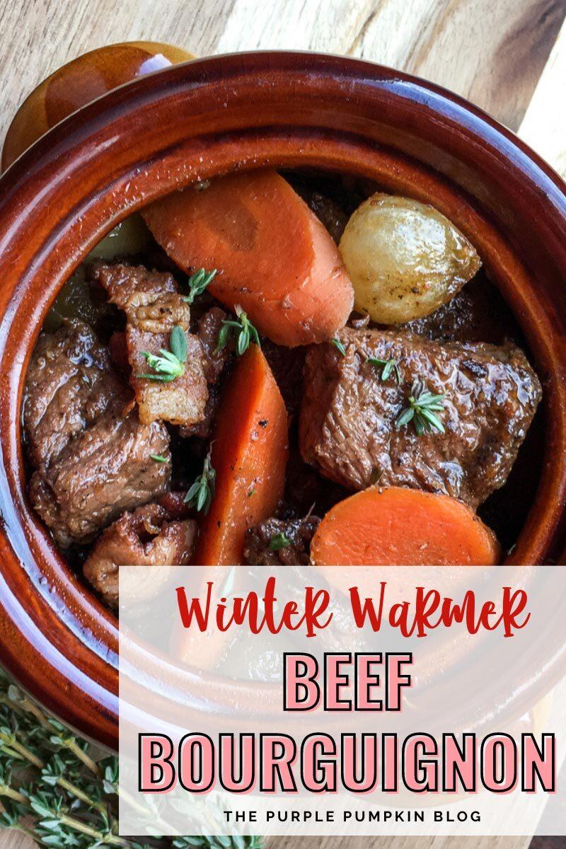 Winter Warmer - Beef Bourguignon
