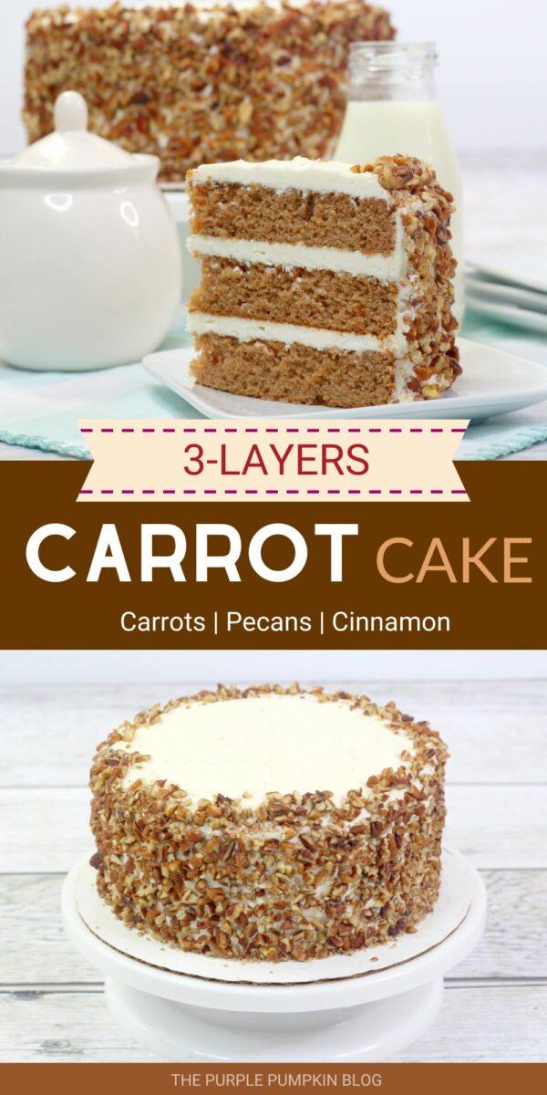3-Layer Carrot Cake