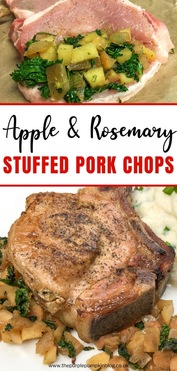 Apple & Rosemary Stuffed Pork Chops