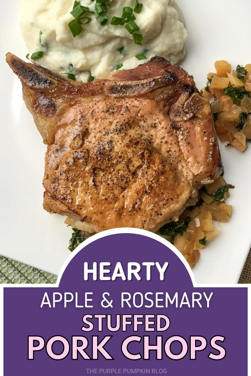 Apple & Rosemary Stuffed Pork Chops Recipe