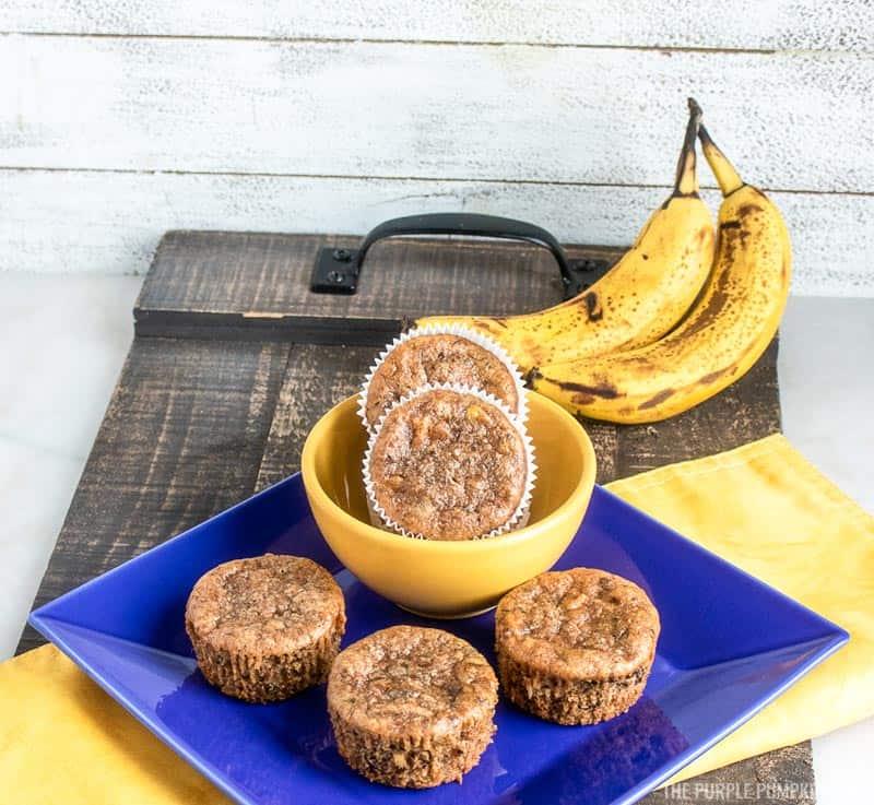 Banana Chocolate Chunk Gluten-Free Muffins Recipe