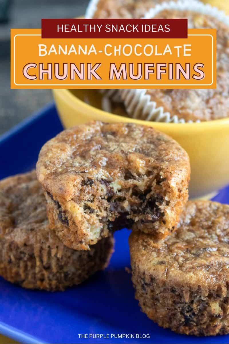 Banana-Chocolate-Chunk-Muffins-Healthy-Snack-Idea
