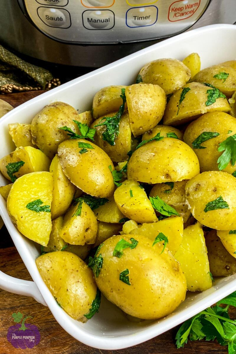 Butter Parsley Potatoes Recipe