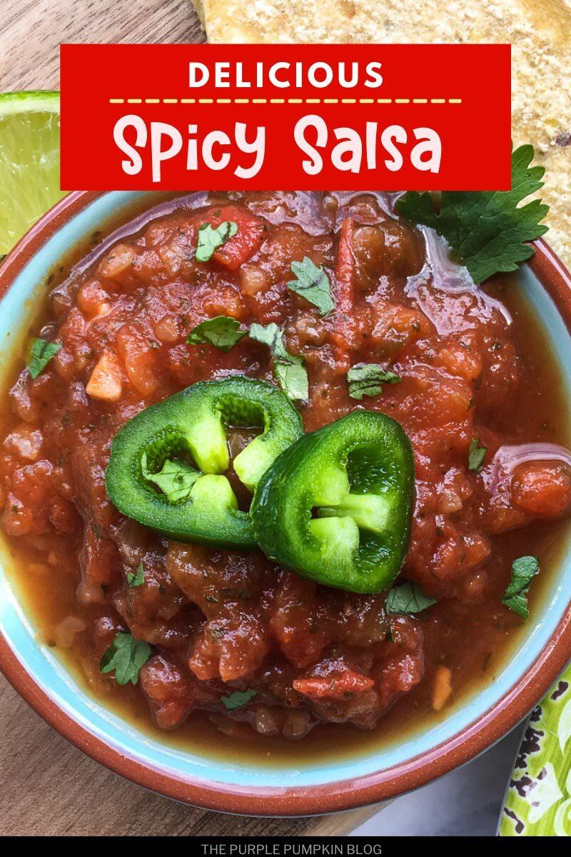 Delicious Spicy Salsa Recipe