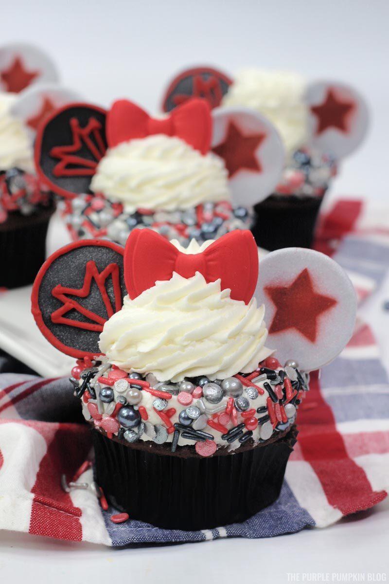 Disney Marvel Cupcakes - Falcon & Winter Soldier