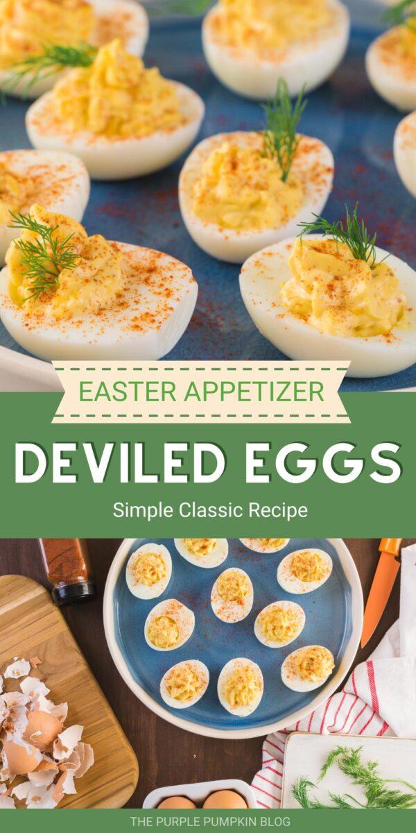 Easter Appetizer - Deviled Eggs