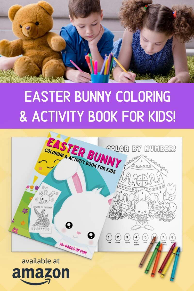 Easter Bunny Coloring & Activity Book for Kids on Amazon