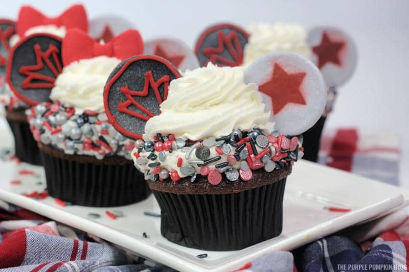 FATWS - Flacon and Winter Soldier Cupcakes Recipe