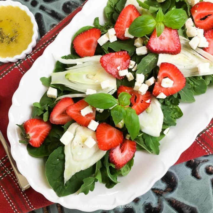 Fennel and Strawberry Salad Recipe