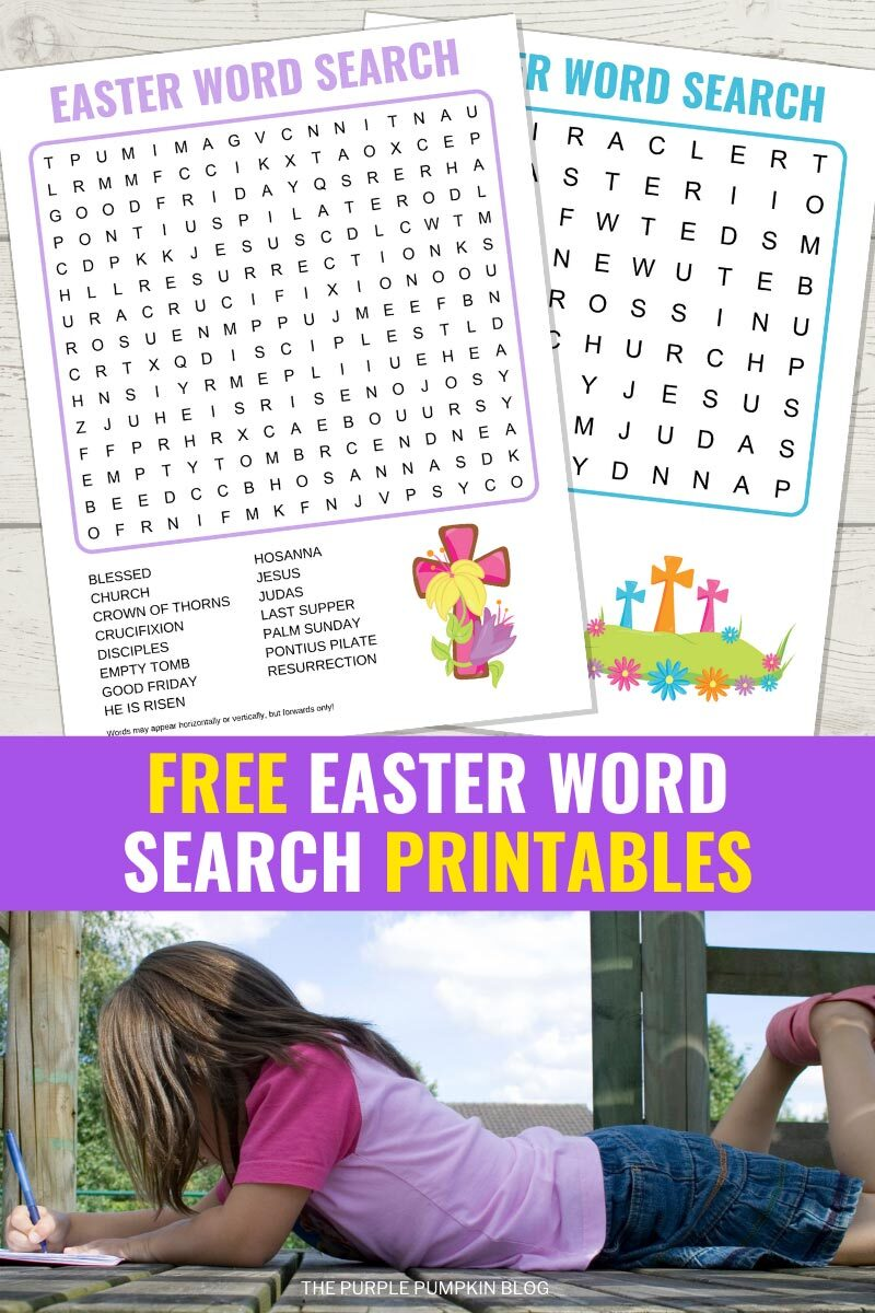 Free Easter Word Search Printables