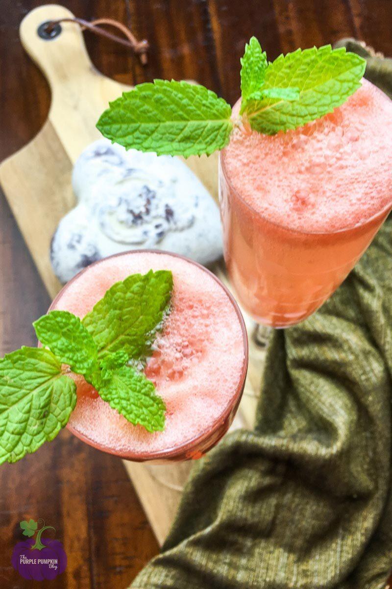 Fresh Grapefruit Mimosas Recipe