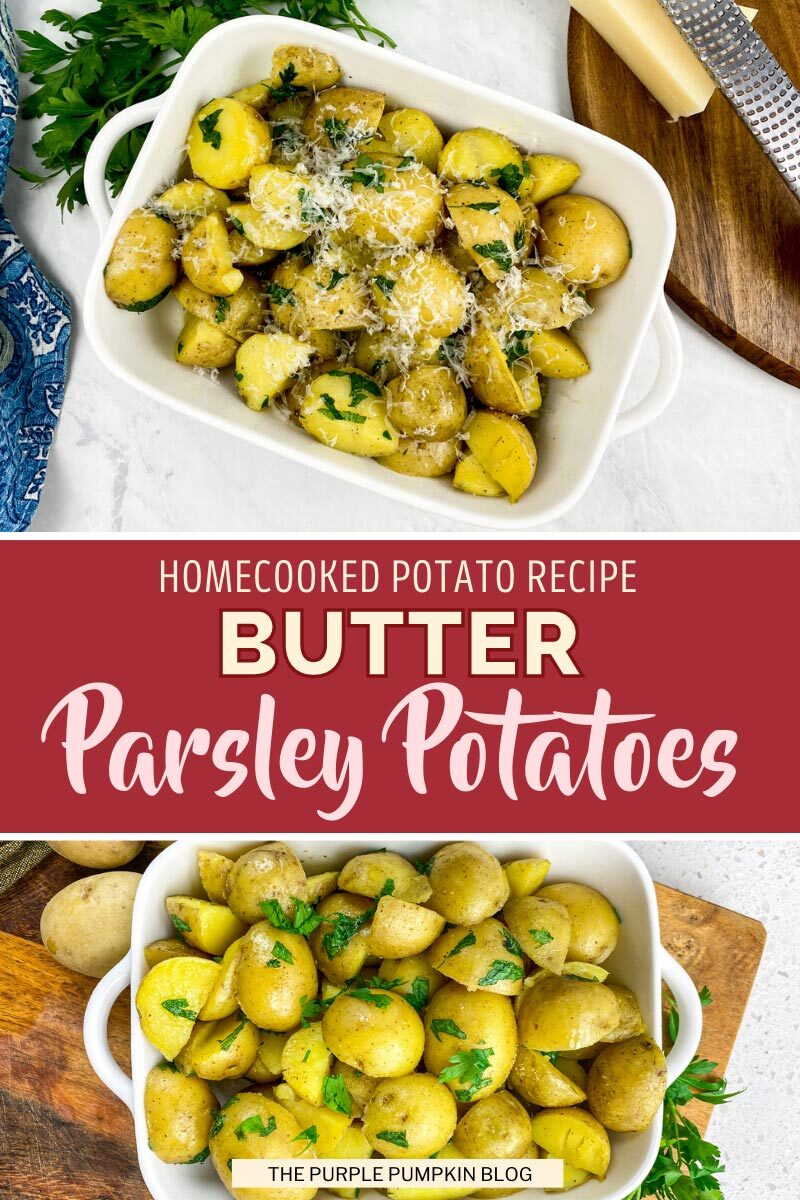 Homecooked Butter Parsley Potatoes