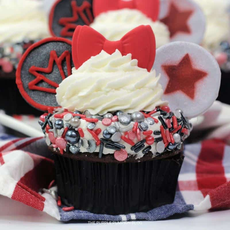 How To Make The Falcon and The Winter Soldier Cupcakes
