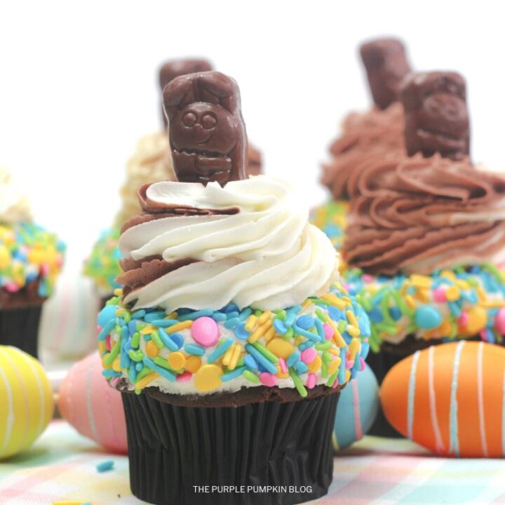 How to Make the Ultimate Easter Bunny Cupcakes