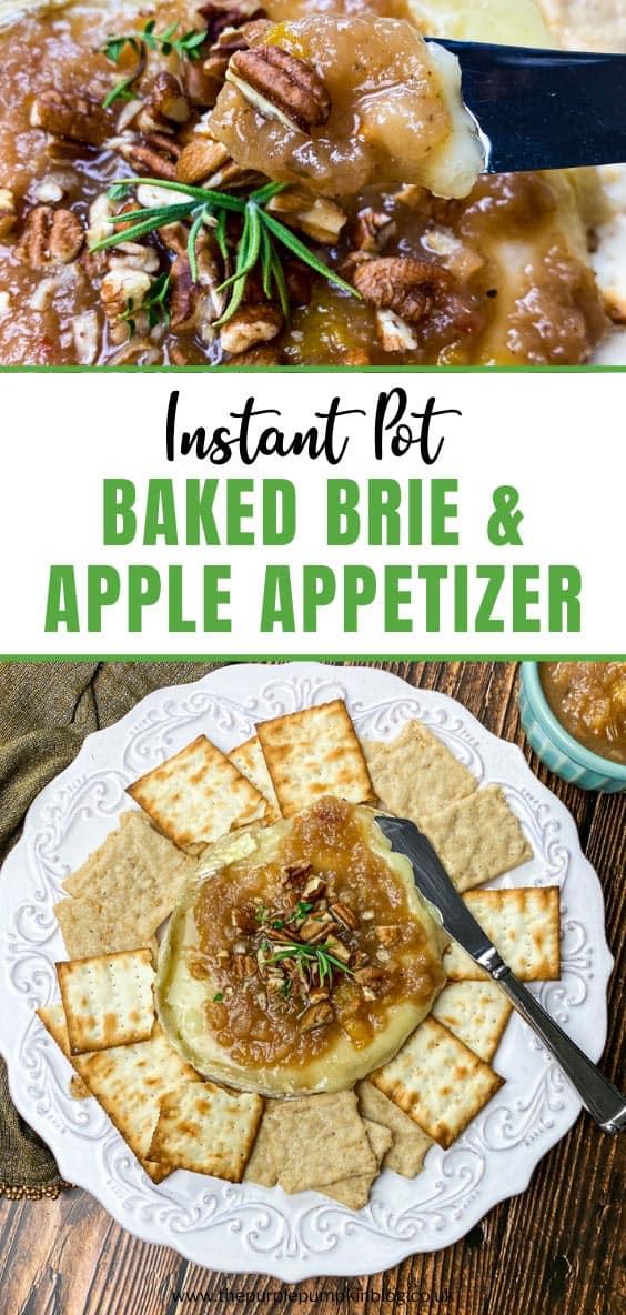 Instant Pot Baked Brie & Apple Appetizer Recipe