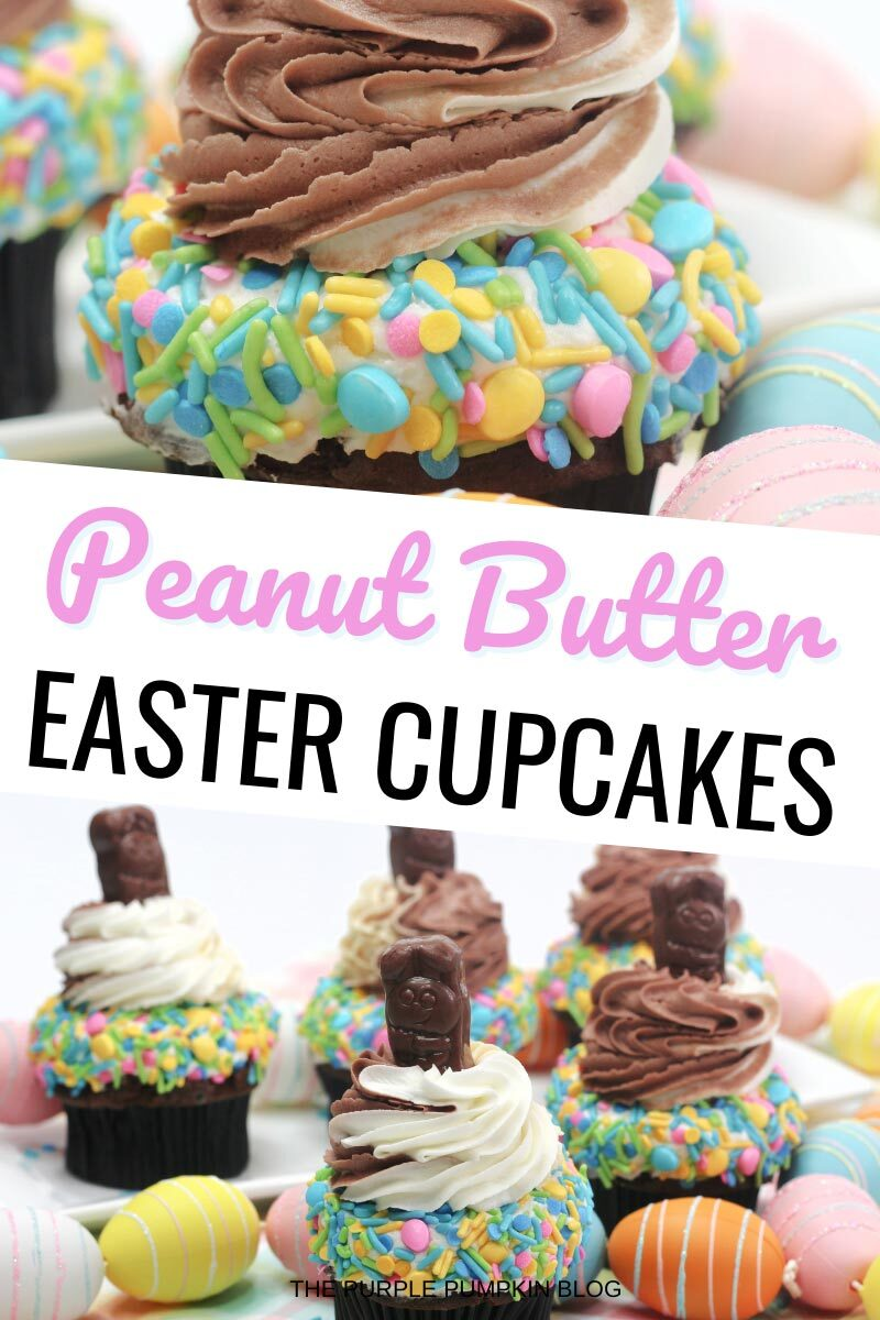 Peanut Butter Easter Cupcakes