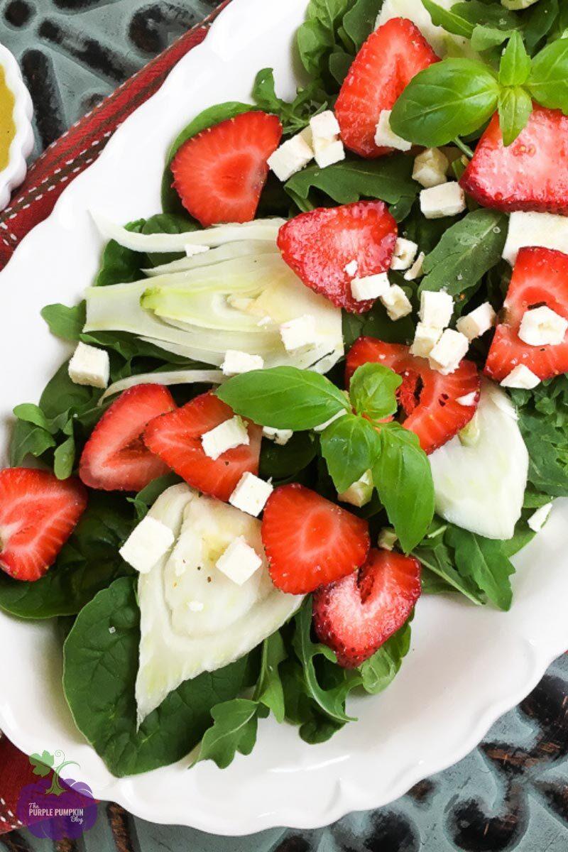 Recipe Fennel and Strawberry Salad