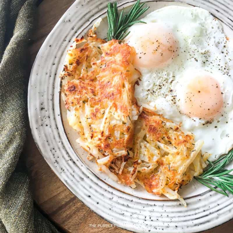Recipe for Cheesy Hash Browns
