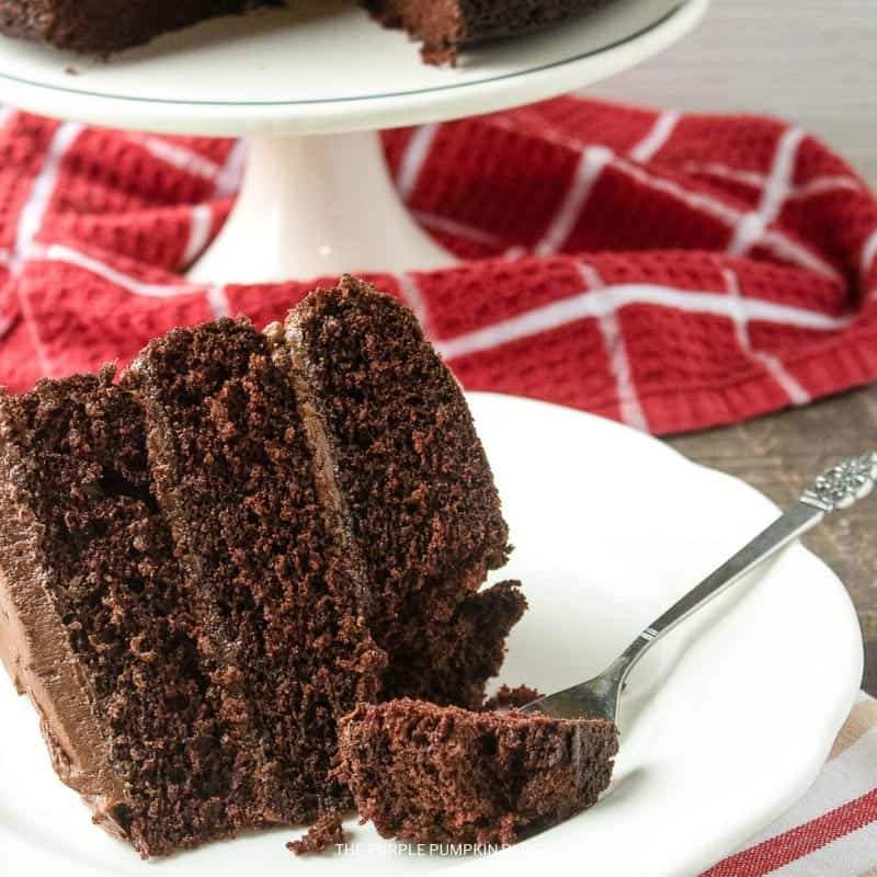 Recipe for Decadent Chocolate Layer Cake