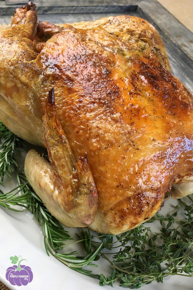 Recipe for Garlic-Herb Roast Chicken