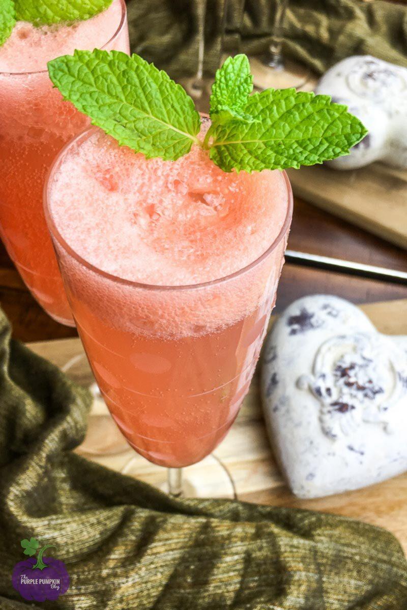 Recipe for Grapefruit Mimosas