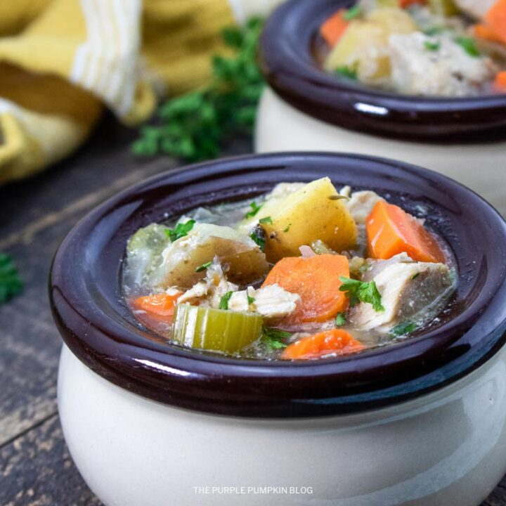 Recipe for Slow Cooker Chicken and Vegetable Stew