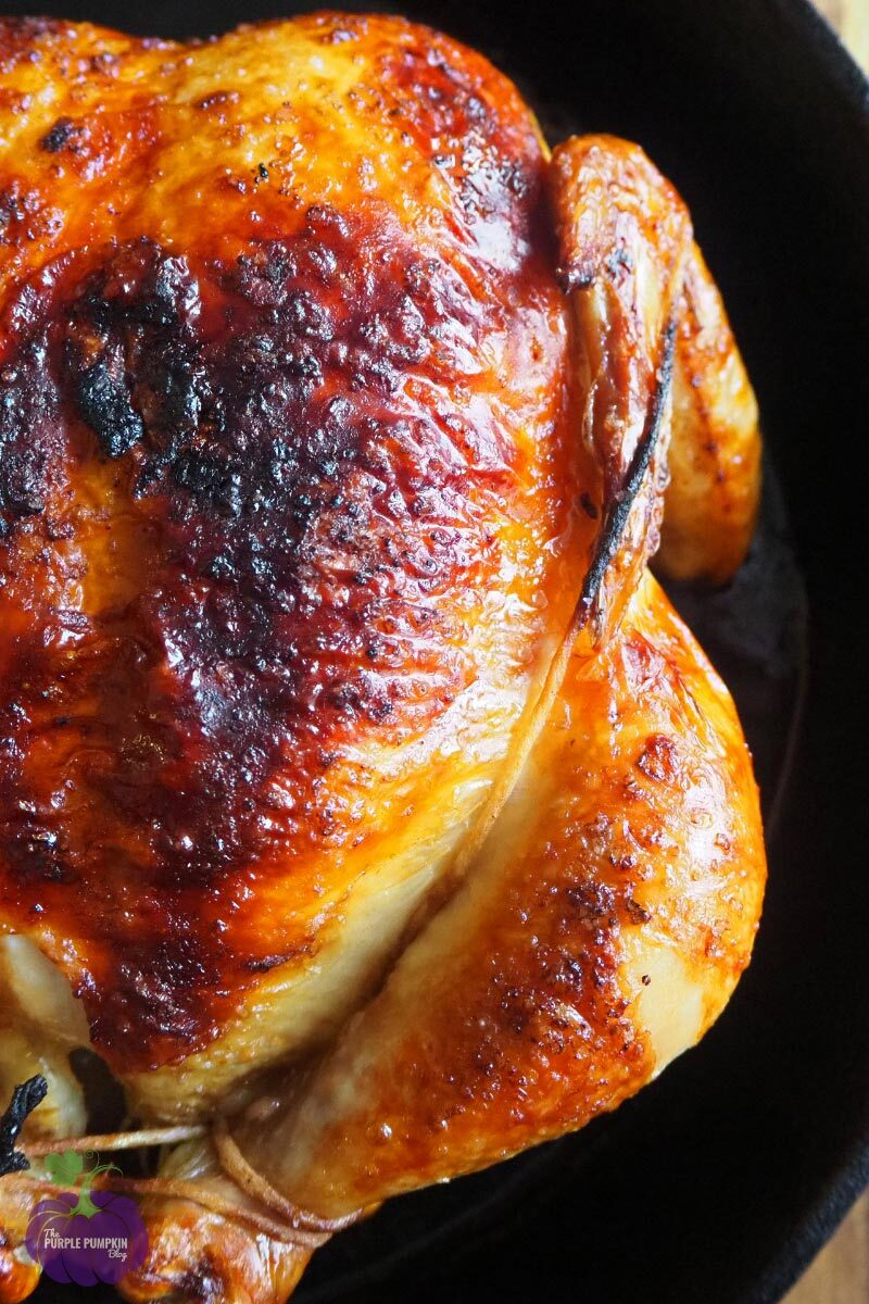 Roast Chicken with Garlic & Herbs Recipe