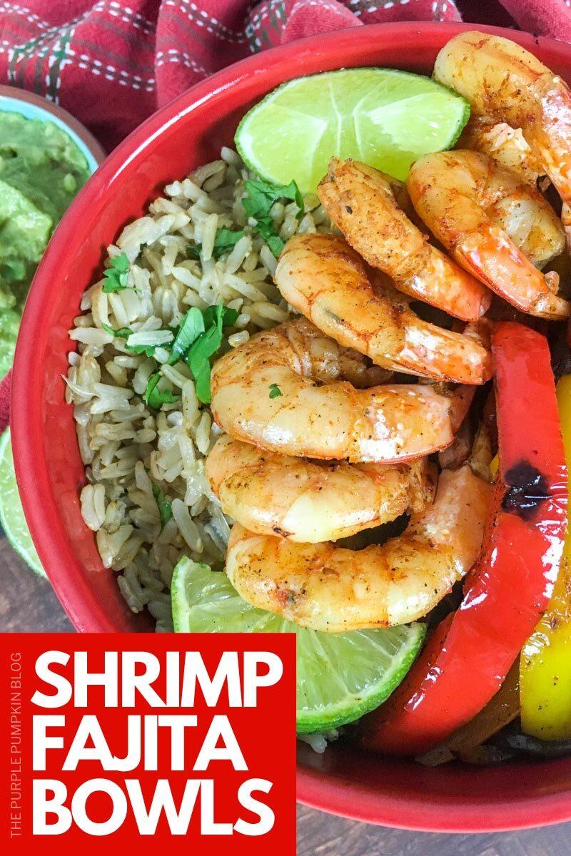 Shrimp Fajita Bowls Recipe