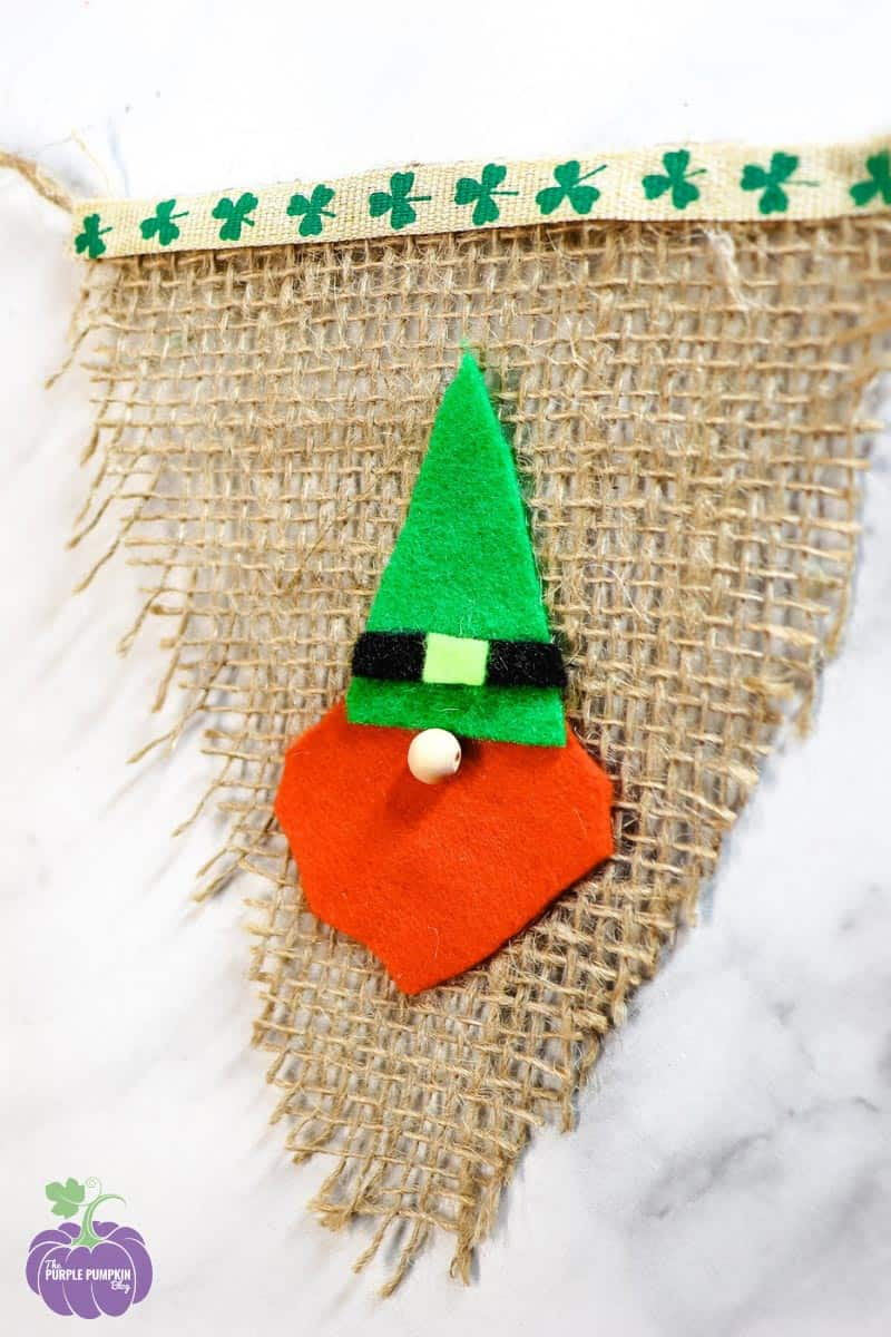 St. Patty's Day Gnome Banner Craft