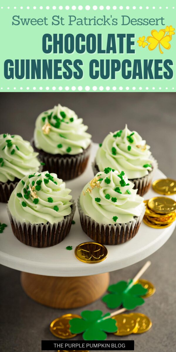 Sweet St Patricks Dessert Cupcakes