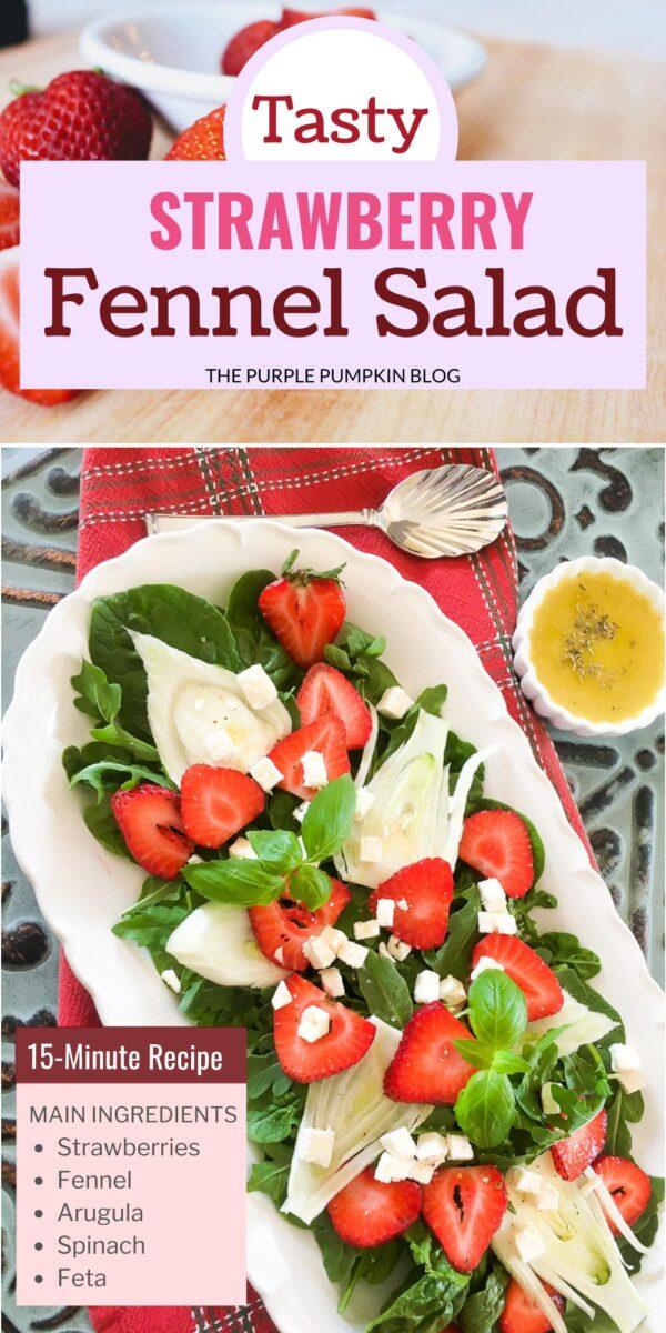 Tasty Strawberry Fennel Salad