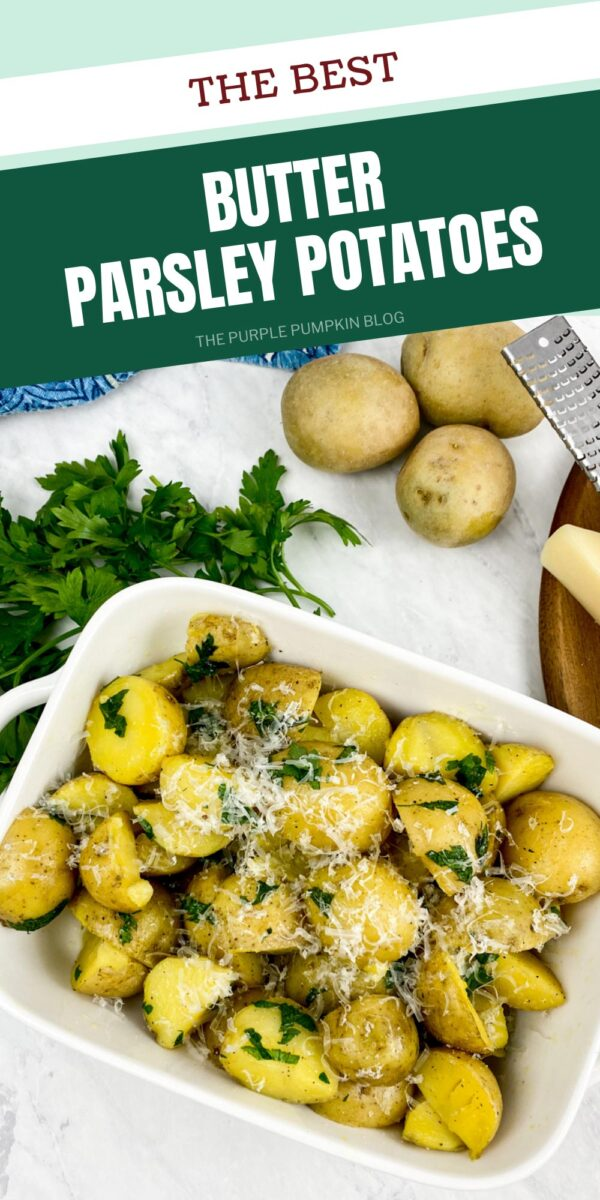 The Best Butter Parsley Potatoes