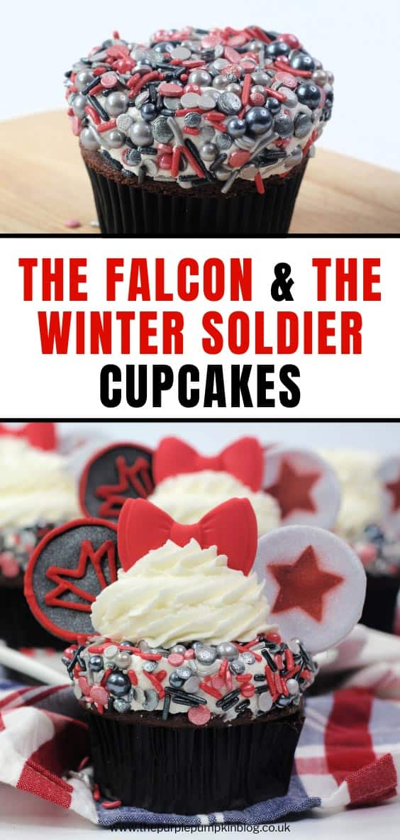 The Falcon and The Winter Soldier Ears Cupcakes