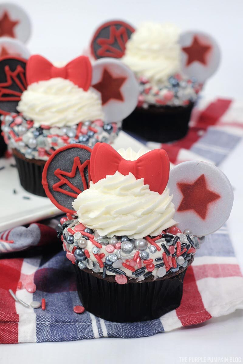 The Falcon and The Winter Soldier Marvel Cupcakes