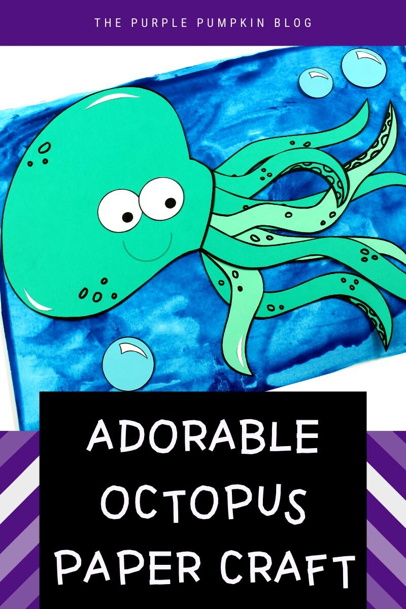 Adorable Octopus Paper Craft