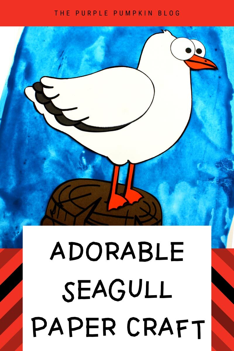 Adorable Seagull Paper Craft