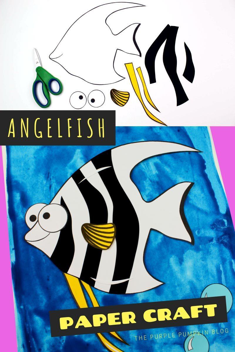 Angelfish Paper Craft