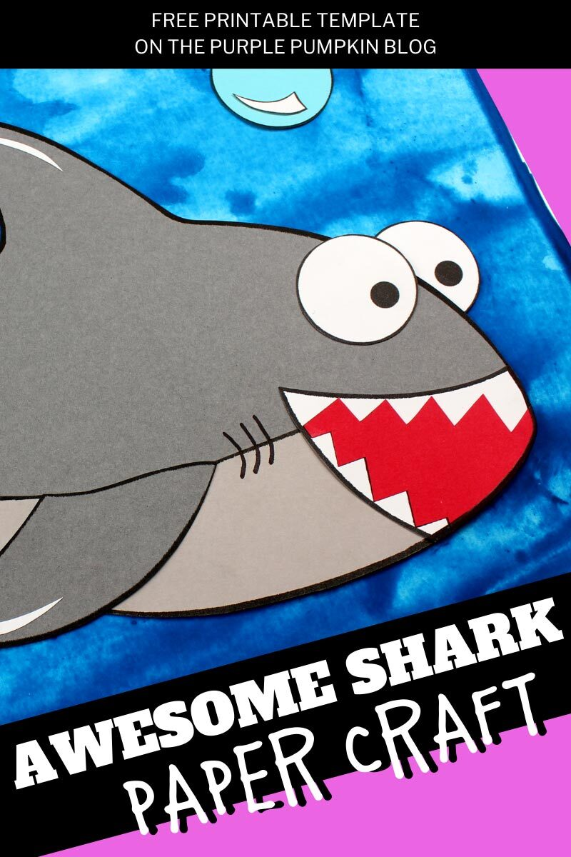Awesome Shark Paper Craft