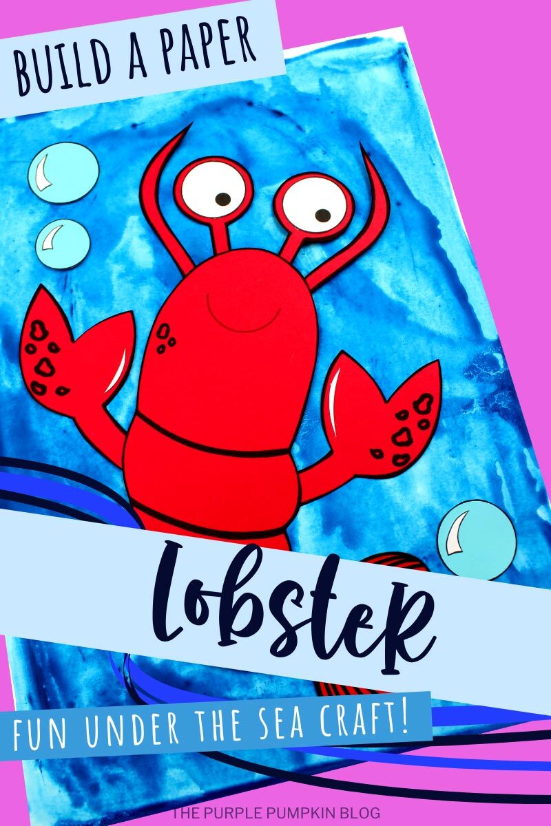 Build A Paper Lobster - Fun Under the Sea Craft