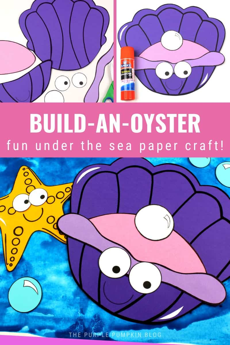 Build-An-Oyster - Fun Under the Sea Craft!