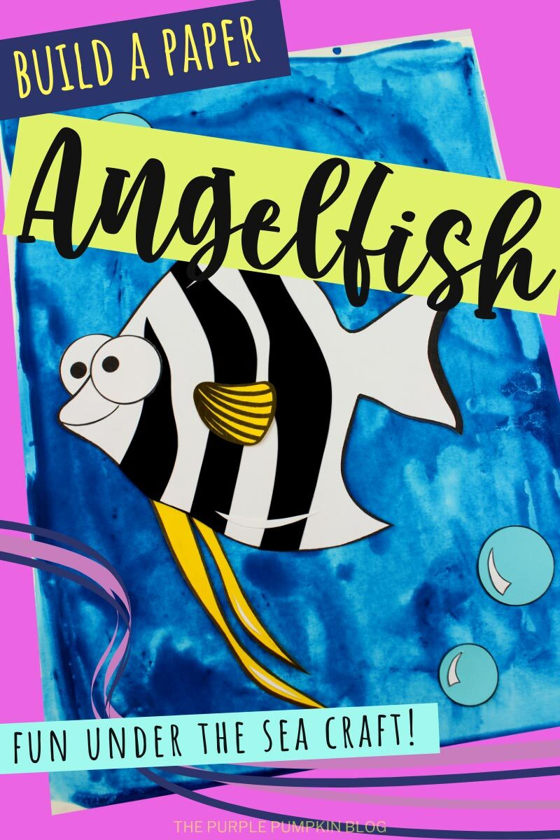 Build a Paper Angelfish - Fun Under the Sea Craft