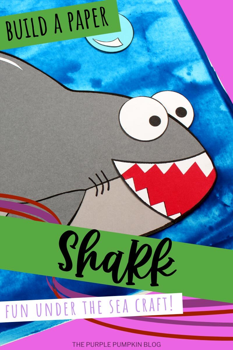 Build a Paper Great White Shark
