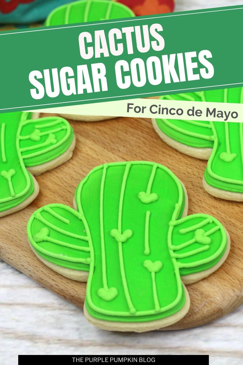 Cactus Sugar Cookies for Cinco de Mayo