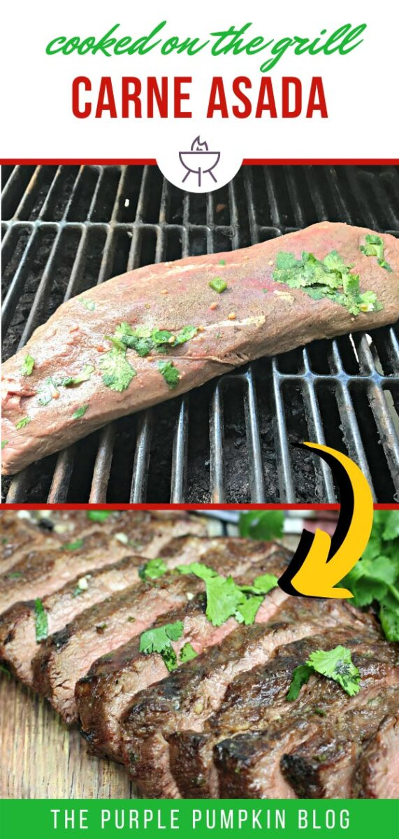 Carne Asada Recipe Cooked on the Grill