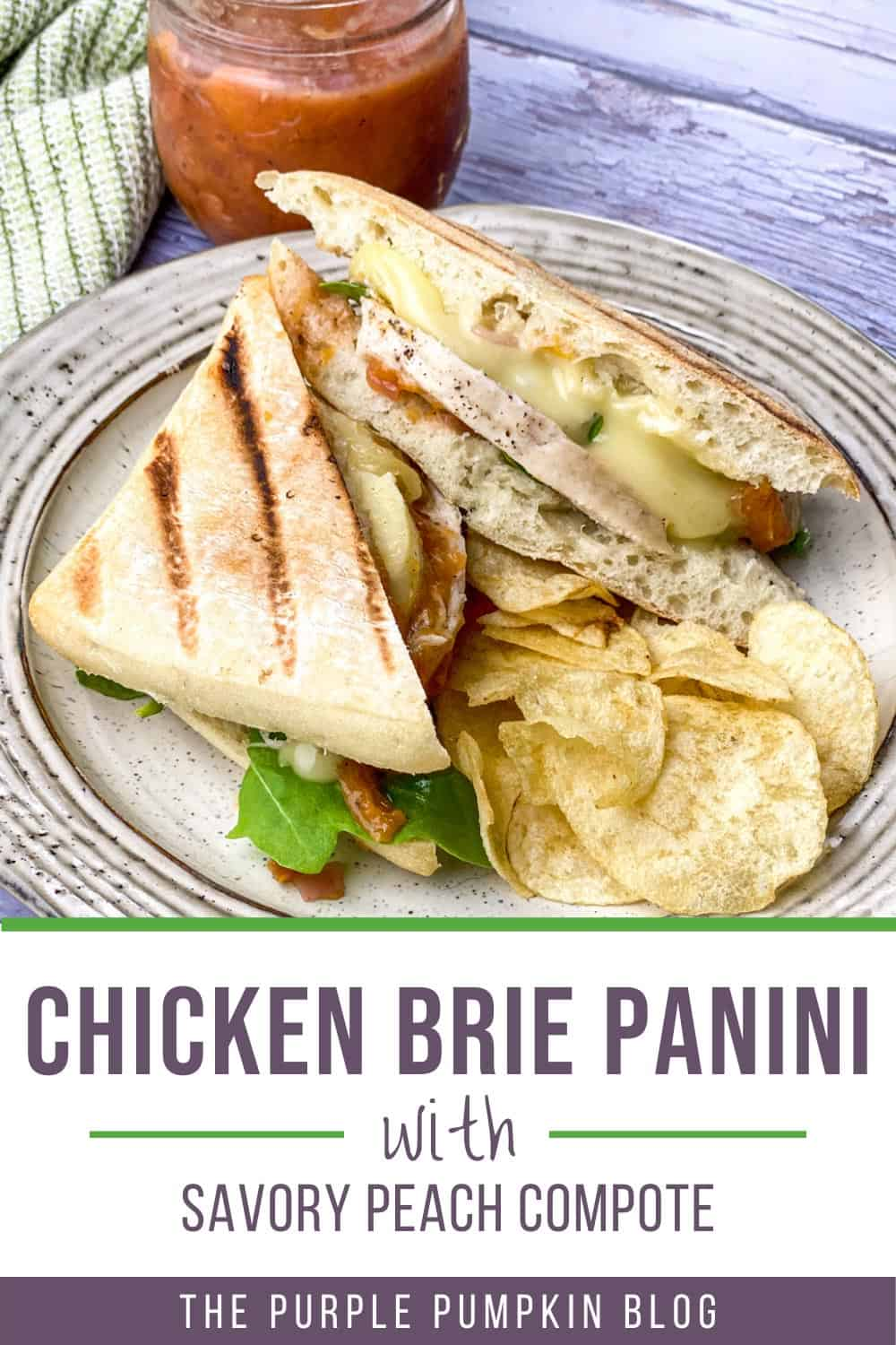 Chicken-Brie-Panini-with-Savory-Peach-Compote