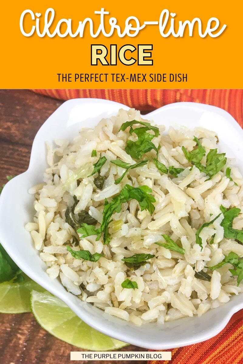 Cilantro-Lime Rice - Tex-Mex Side