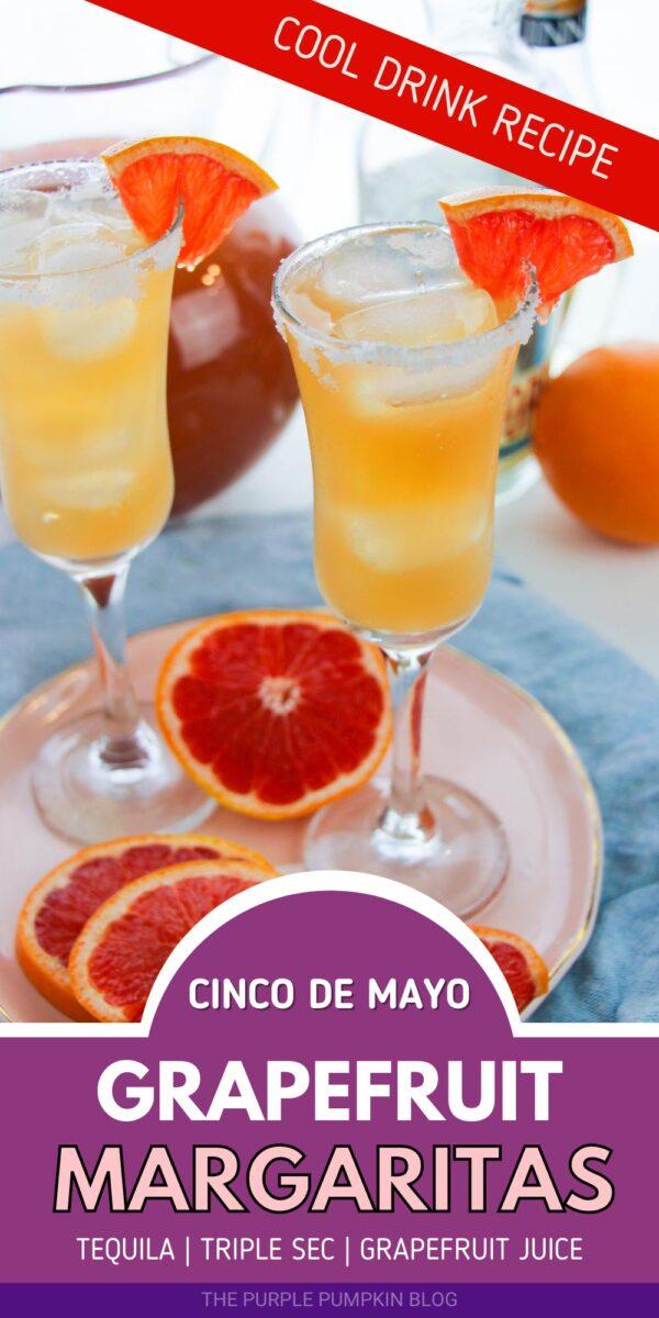 Cinco de Mayo Grapefruit Margaritas