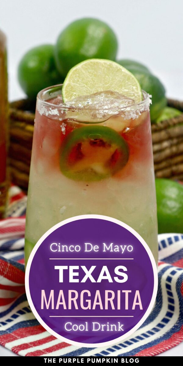 Cinco de Mayo Texas Margarita with Jalapenos