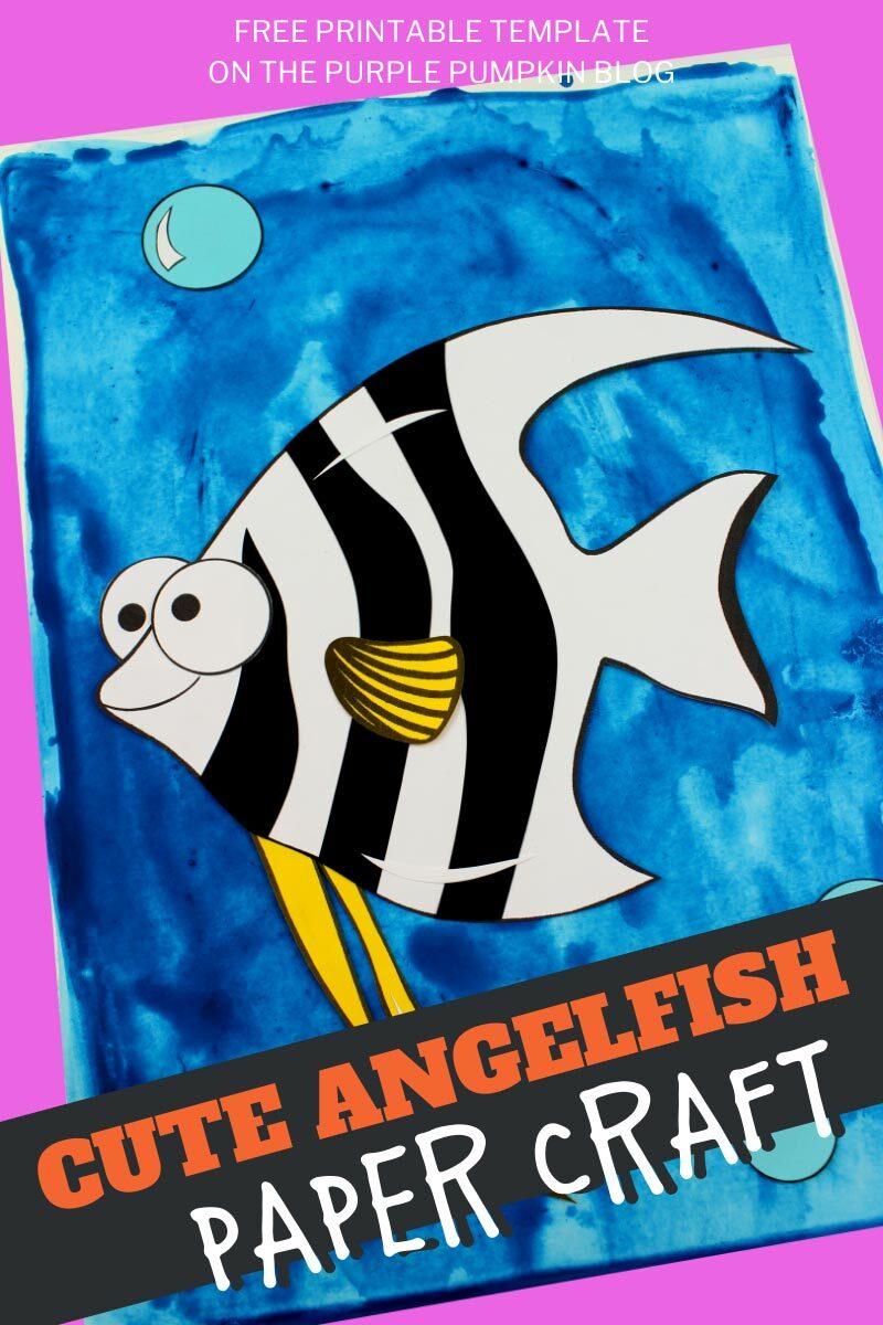 Cute Angelfish Paper Craft