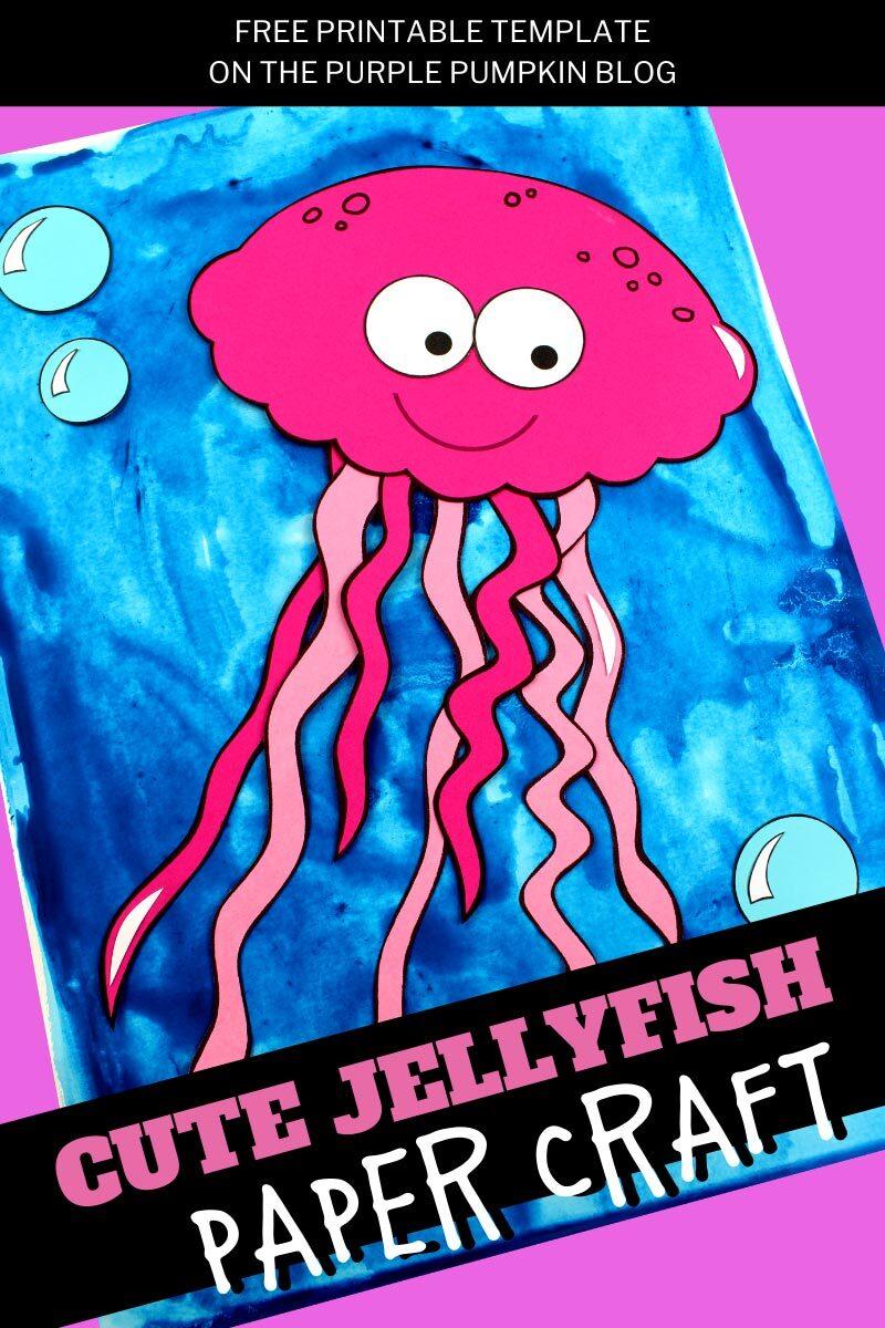 Cute Jellyfish Paper Craft